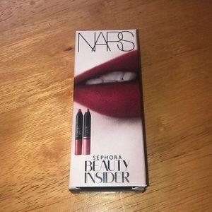 NARS matte lip pencils